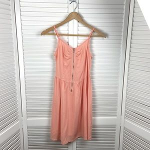 H & M Peach Dress Size 6
